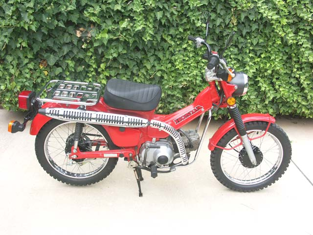 1980 honda ct110 trail sold october 2008 in virginia $1600