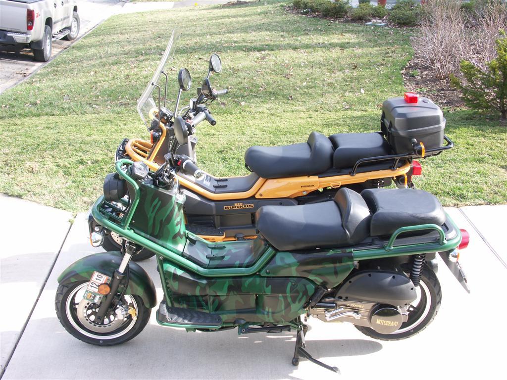 Honda Ruckus Clones